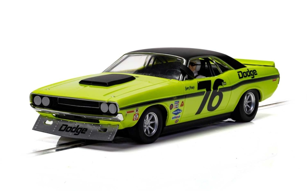 Scalextric 1:32 Dodge Challenger Posey No.76 HD