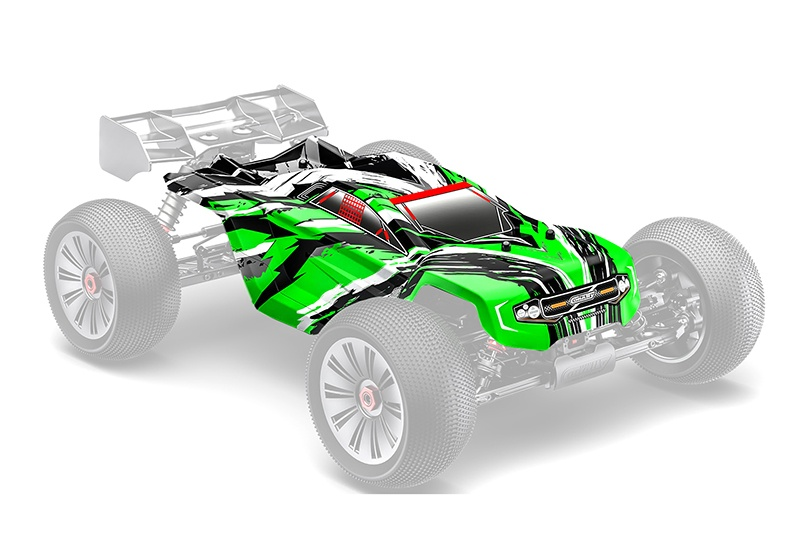 Team Corally Polycarbonate Body - Shogun XP 6S - Painted -