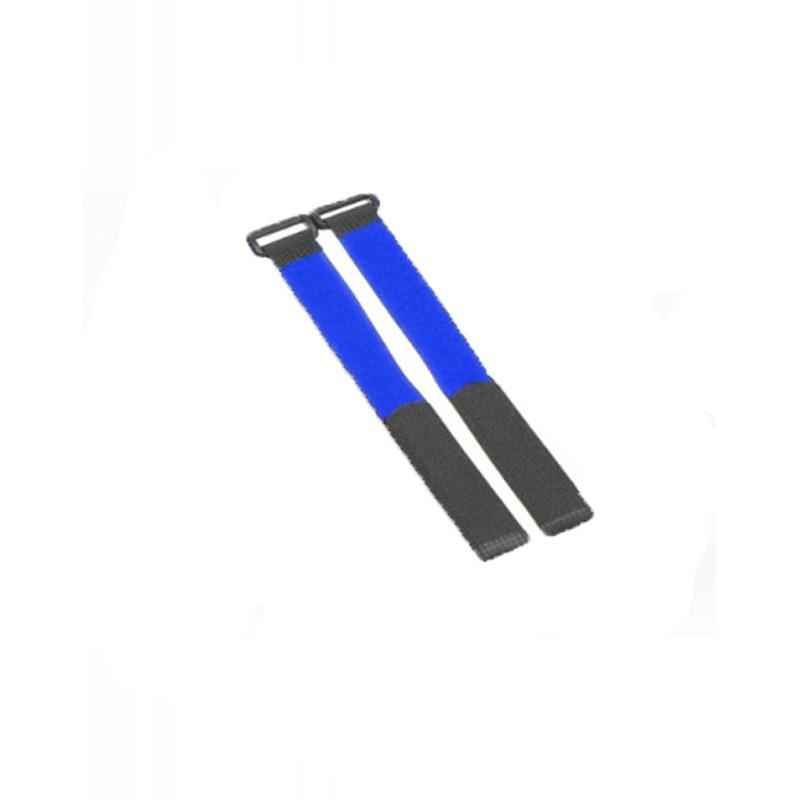 Flexytub Klettband Nylon 27cm x2cm blau (2 Stück)