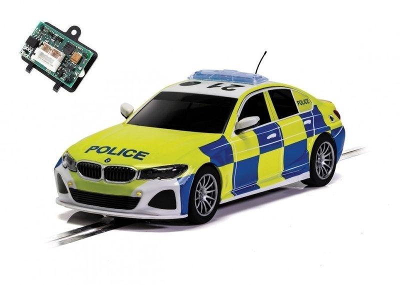 Scalextric 1:32 BMW 330i M-Sport Police Car HD