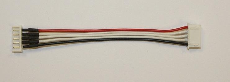 Balancer-Adapter 10cm 4s EH-Stecker auf XH-Buchse