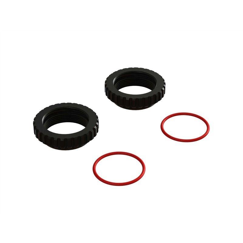 Arrma Shock Collar, CNC Aluminum (2) (ARA330648)