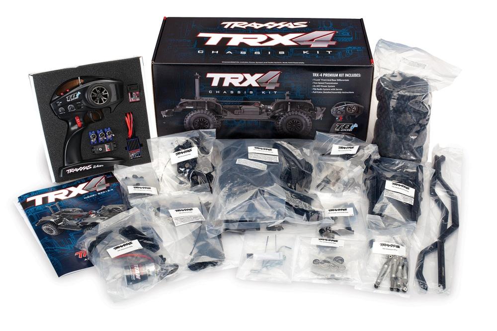 Traxxas TRX-4 Kit Crawler TQi2.4GHz XL-5 312mm Radstand