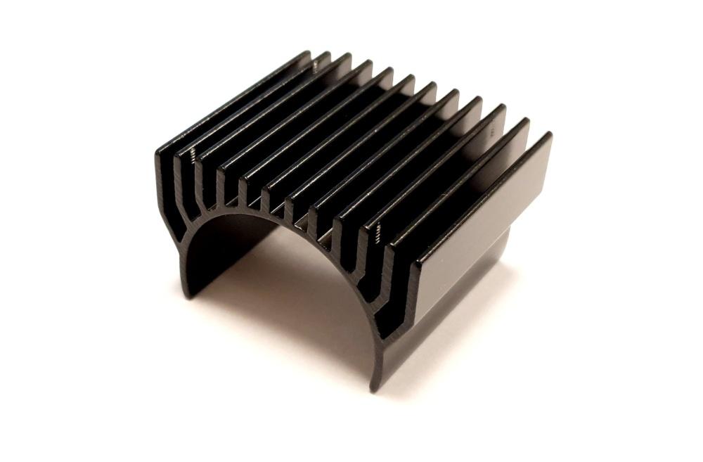 MLine Kühlkörper 1:8, schwarz passend für 1:8er Motoren mit