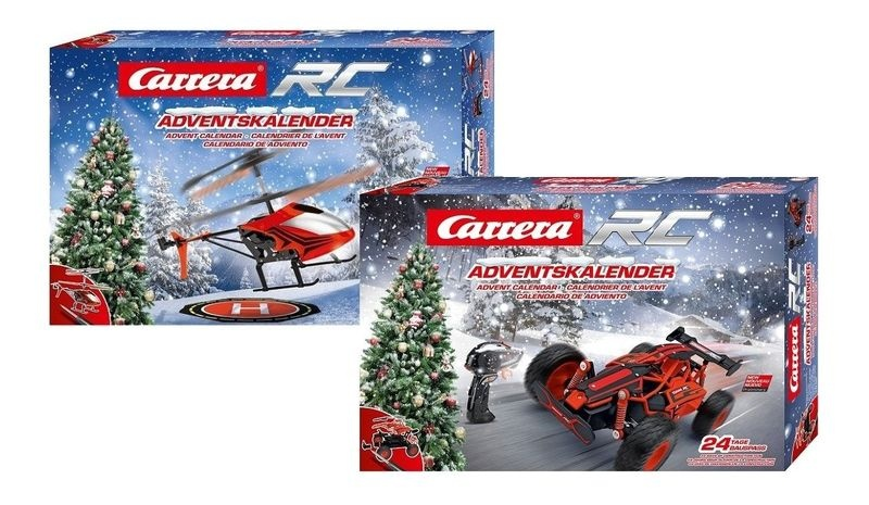 Carrera RC Adventskalender mit 2,4GHz RC Helicopter &