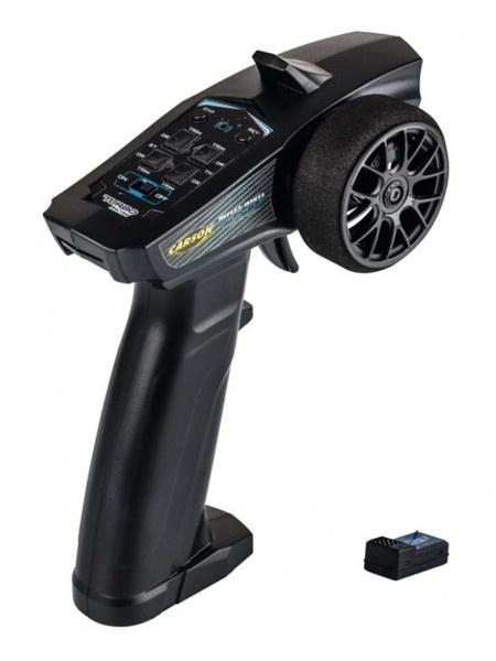 Carson Reflex Wheel Start 2.4GHz Radio schwarz