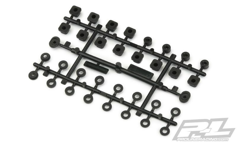 Pro-Line PRO-MT 4x4 Replacement Plastic Hinge Pin Inserts