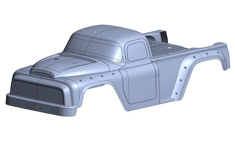 Team Corally Polycarbonate Body - Dementor XP 6S - Clear -