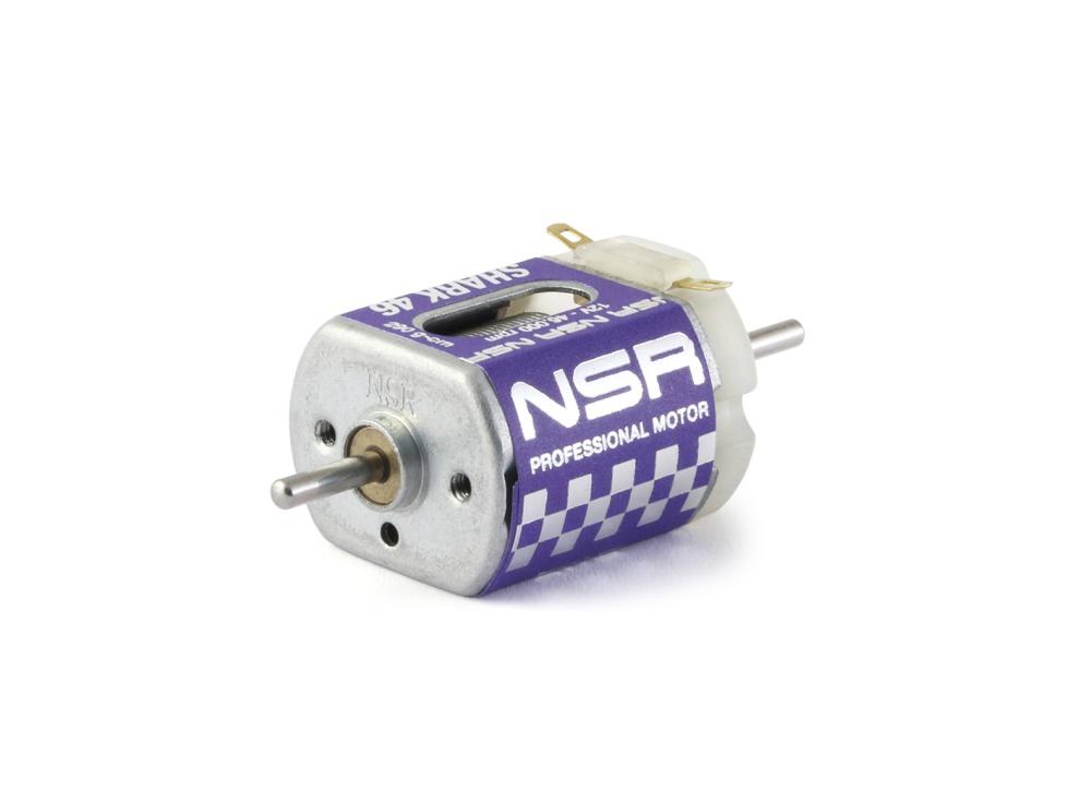 NSR Shark 46k EVO Motor - 46.000rpm - 290 gcm @ 12V - Short