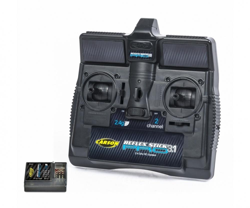 Carson FS Reflex Stick Pro 3.1 2.4G 2 Kanal Sender und