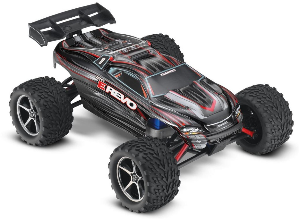 Traxxas E-Revo 4WD Monster-Truck TQ2.4GHz+12V-Lader+Akku RTR