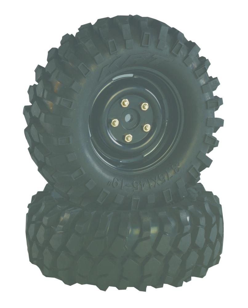 Absima Räderset Crawler Steelhammer 96mm 1:10, 2 Stück