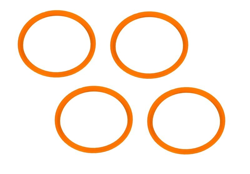 JS-Parts Felgenringe ultraflex orange passend für Off-Road