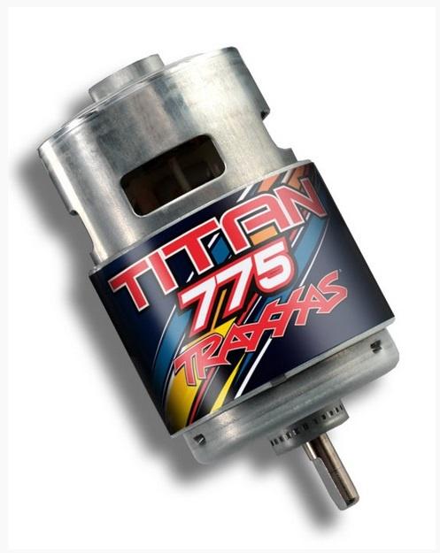 Traxxas Titan 775 Motor 10T 16.8V 1:10