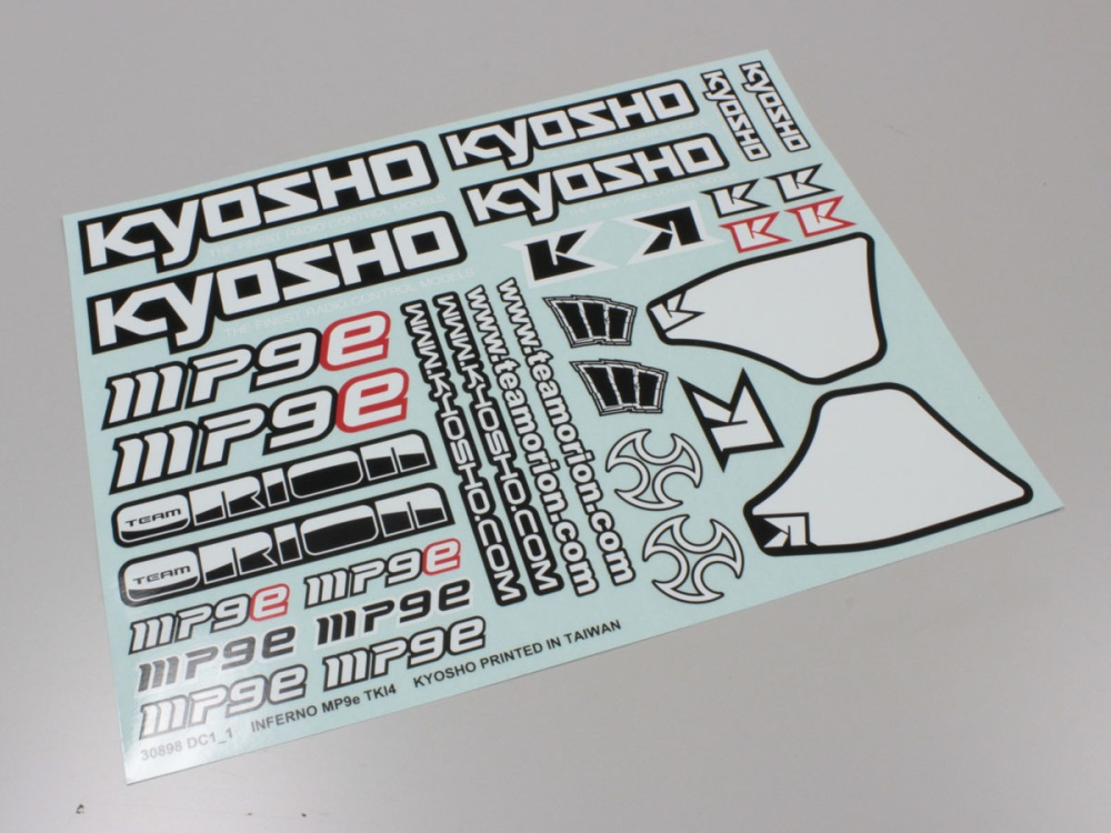 Kyosho Dekorbogen Inferno MP9E