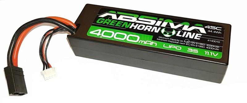 Absima LiPo Stick Pack 11.1V-45C 4000 Hardcase (für Traxxas)