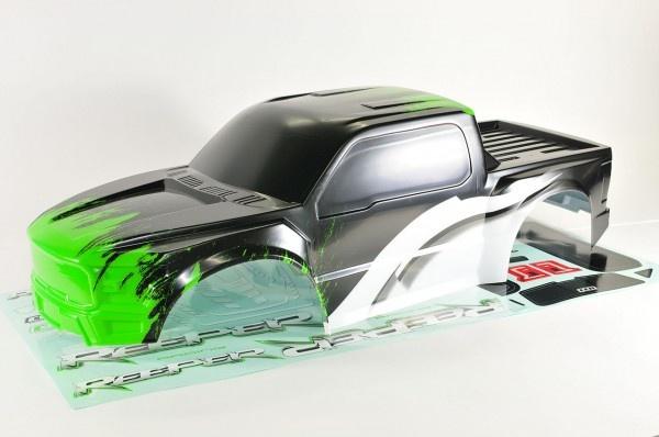CEN Reeper Karosserie Grün lackiert mit Dekorbogen