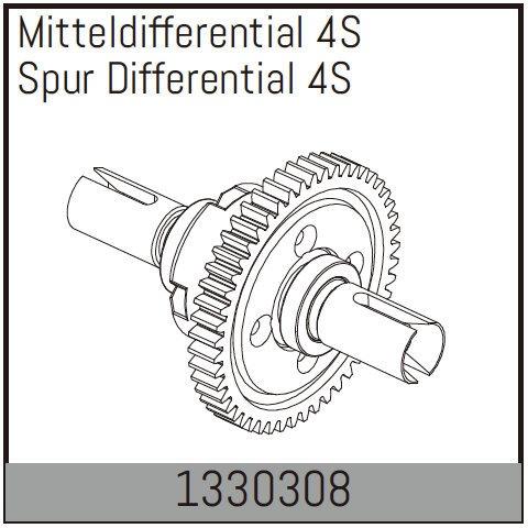 Absima Mitteldifferential 4S