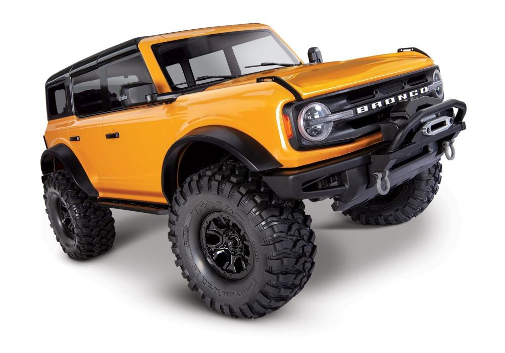 Traxxas TRX-4 2021 Ford Bronco orange RTR o.Akku/Lader