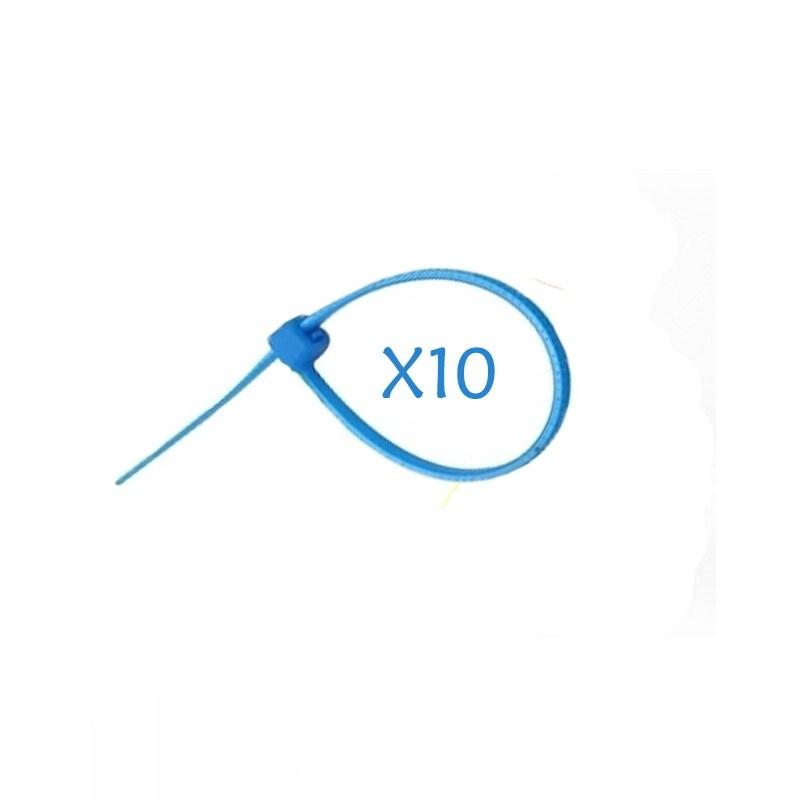 Flexytub Kabelbinder 3mmx100mm Blau (10 Stück)