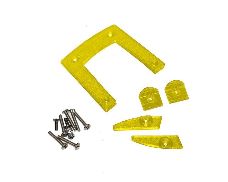 JS-Parts ultraflex Karoscheiben für X-MAXX Body von TMT