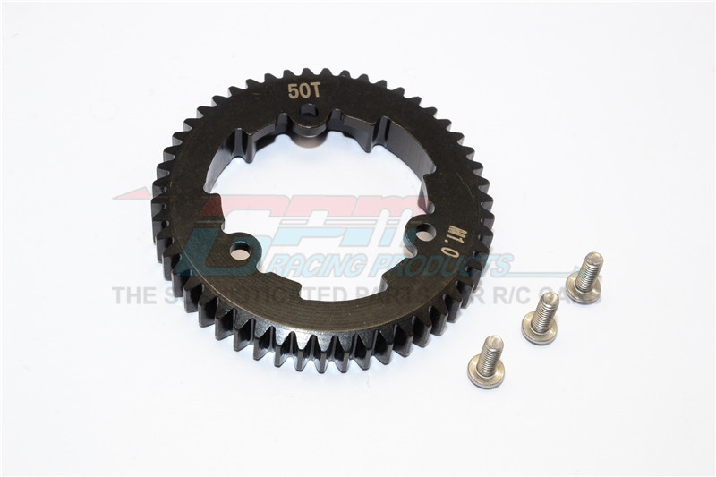 GPM steel spur gear 50T (M1.0) - 1PC Set for Traxxas X-Maxx