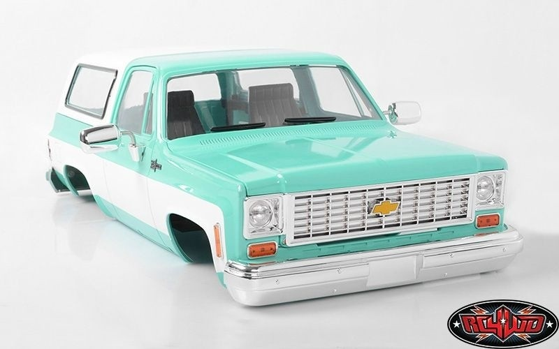 RC4WD Chevrolet Blazer Hard Body Complete Set türkis 1:10