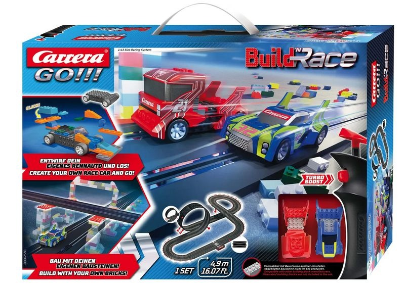 Carrera Go!!! Build n Race - Racing Set 4.9