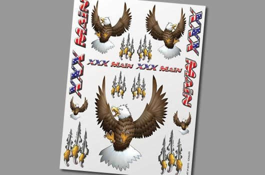 XXX Main Aufkleber - Eagles