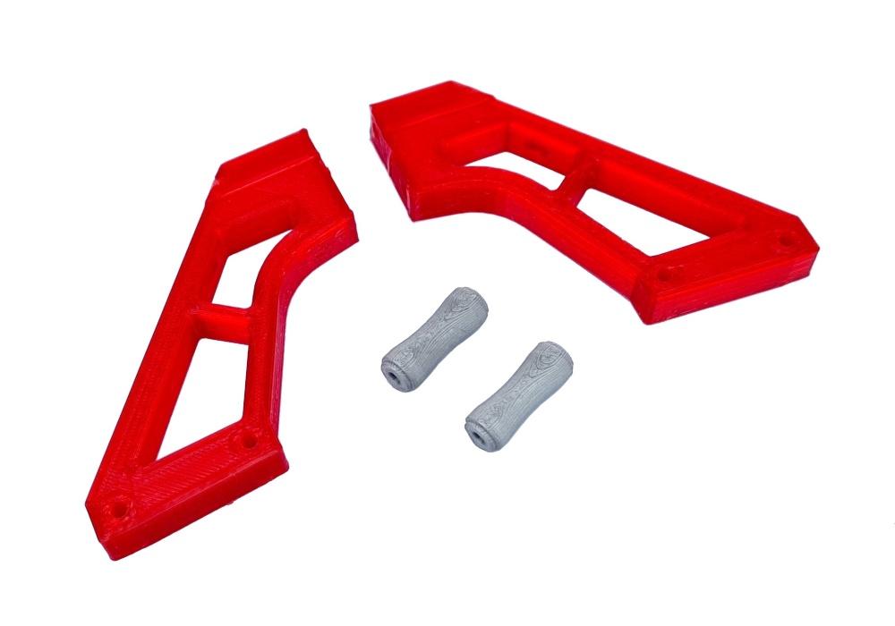 JS-Parts ultraflex Spoilerhalter rot passend für