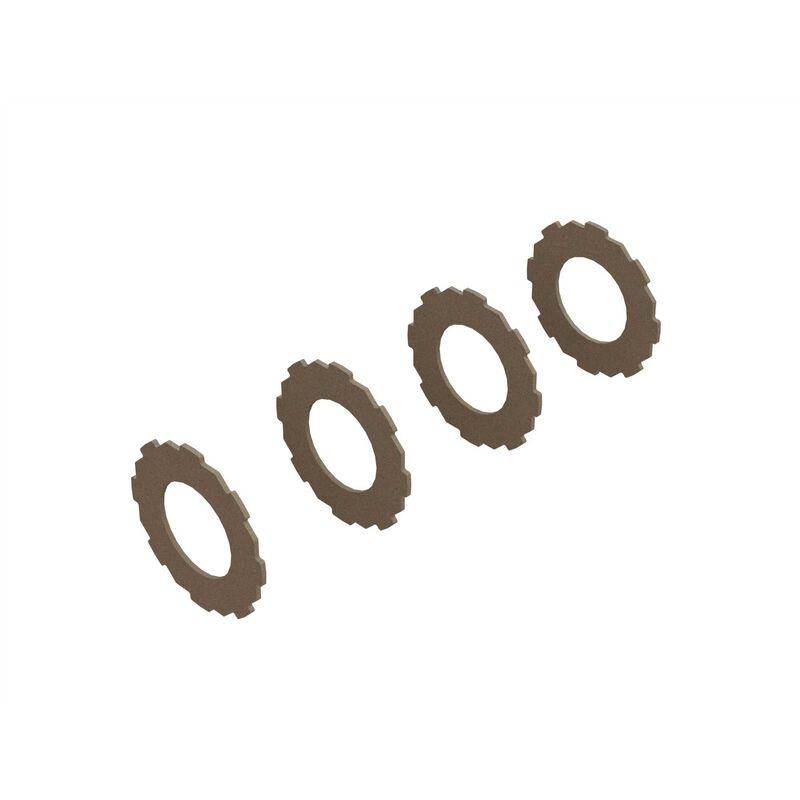 Arrma Slipper Pad (4) (ARA310994)