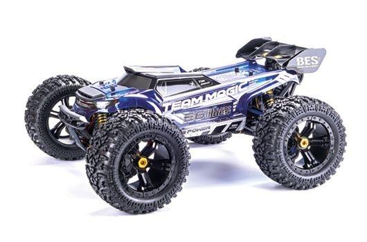 Team Magic E6 III BES+ Silver - Monster Truck Elektrisch-4WD