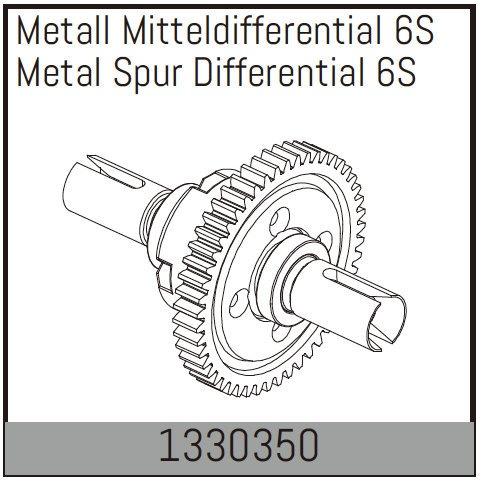 Absima Metall Mitteldifferential 6S