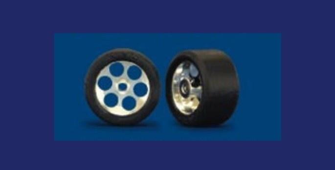 NSR RE RTR 19x10mm Trued Rubber on 16 Wheels (2)