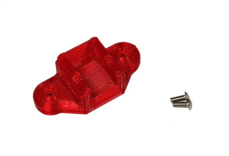 JS-Parts ultraflex Schalter Halter rot für Hobbywing