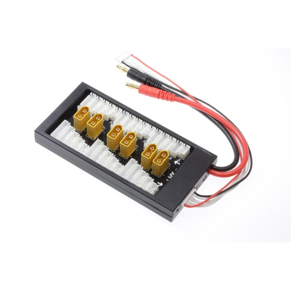 RC-Dome XT60 Stecker Parallel Board V3 XH