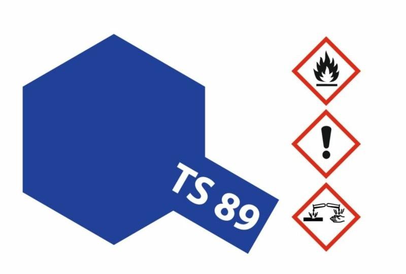Tamiya Acryl-Sprühfarbe TS-89 Blau Perleffekt 100ml
