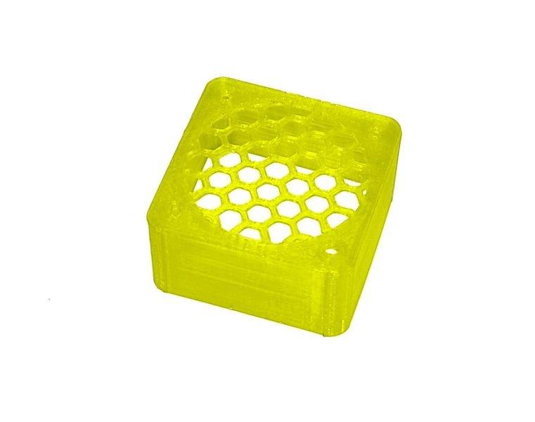 JS-Parts ultraflex Lüftergitter 40x20 geschlossen gelb