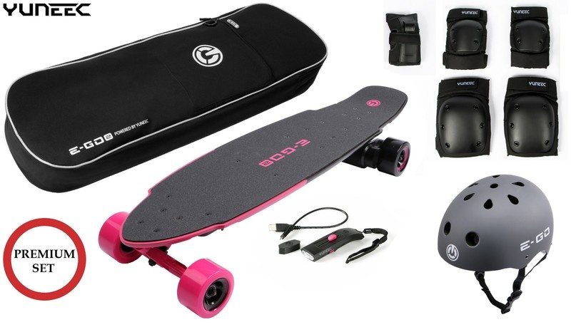 Yuneec E-GO 2 E-Board (Hot Pink) --SPARSET 3--