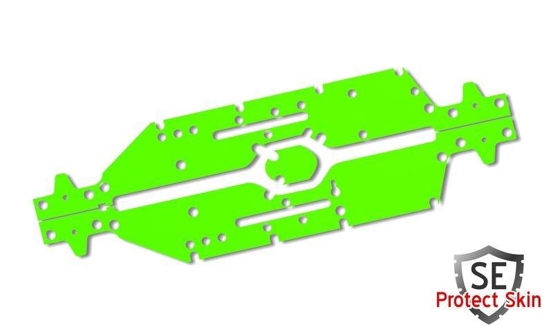 JS-Parts SE Protect Skin Unifarbe Grün