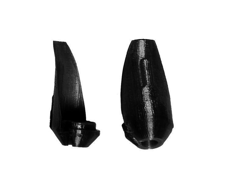 JS-Parts Kolbenschützer ultraflex schwarz für Team Corally