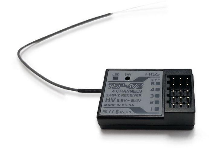 2-Speed TSP-472 FHSS Receiver 4ch (Sanwa Comp.)