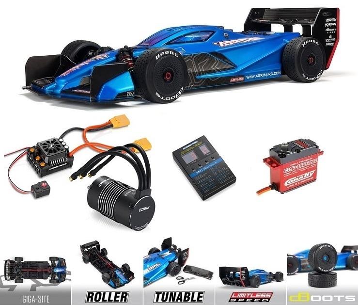Arrma 1/7 LIMITLESS All-Road Speed Bash: Roller (ARA109011)