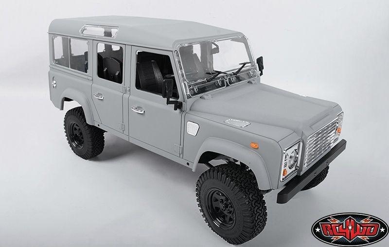 RC4WD Gelände II D110 Truck Kit With Hard Body Bausatz 1:10