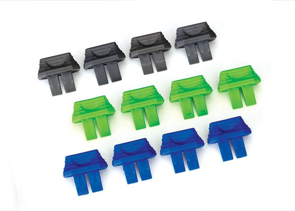 Traxxas Battery charge indicators (green (4), blue (4), grey