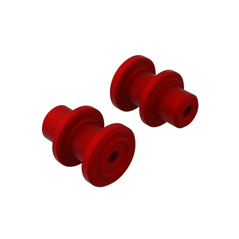 Arrma Servo Saver Axle, CNC Aluminum (2) (ARA340172)