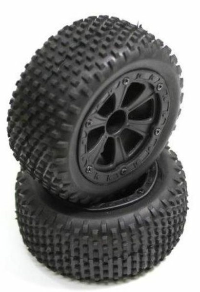 Absima Reifen komplett hinten (2) Buggy