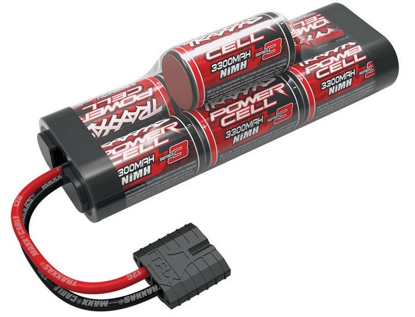 Traxxas Power Ser.3 7-cell Hump NiMh 3300mAh Sub.C 8.4V m.iD