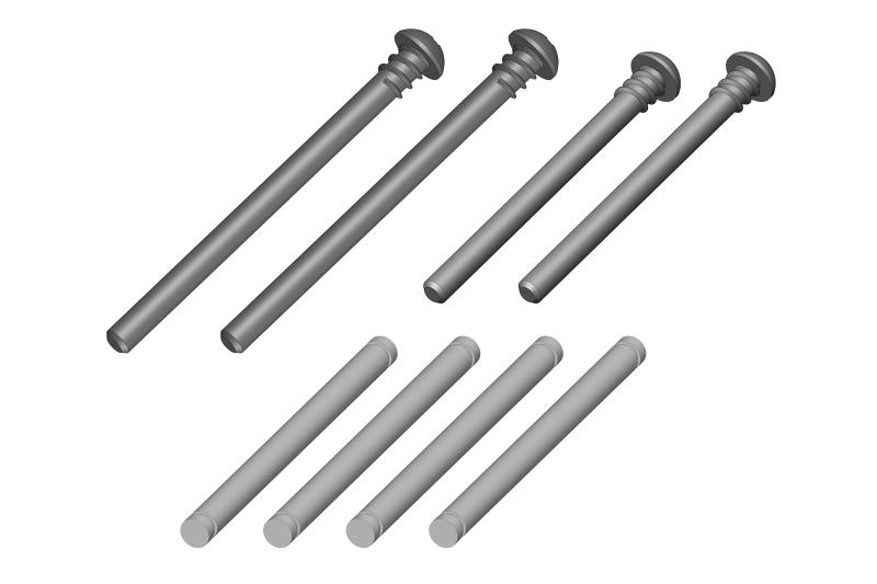 Team Corally Arm Pin Set - 1 Set