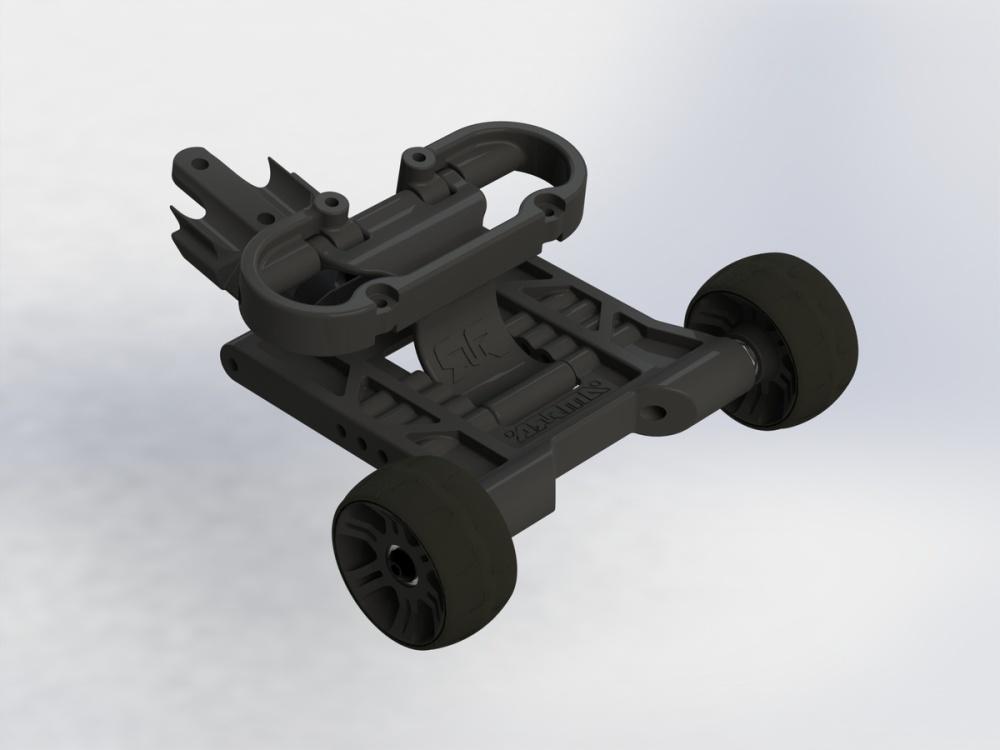 Arrma RC Nero Wheelie Bar Set